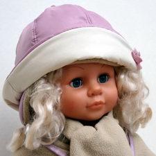 выкройка детской зимней шапки для.